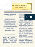 Boletin Jurisprudencial 2018-12-19
