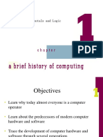 Chapter 1 - A Brieft History of Computing
