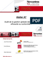 Audit Gestion Risques AMRAE
