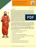 Sri Periyava 51st Jayanthi Bhikshavandanam 2019