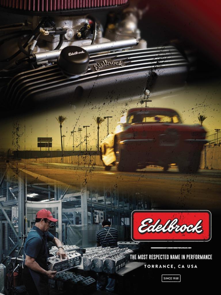 Edelbrock 1453 Performer Series Carburetor Metering Rod Pair