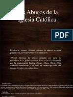 Abusos De La Iglesia Católica