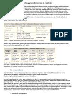 UNIDAD 7 Constantes Vitales y Procedimientos de Medición