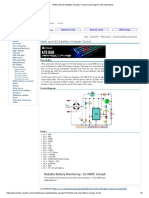 NiMh and NiCd Battery Charger Circuit Circuit Diagram and Instructions