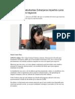 Escuela Para Estudiantes Extranjeros Impartirá Curso de Español Para Negocios