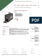 LN-25 PRO Alimentador de Alambre Semiautomático, Extra Torque