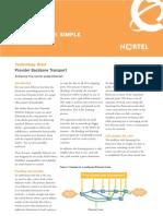 Provider Backbone Transport - Nortel