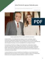 05-12-2018 Gestiona Gobernadora Pavlovich Apoyos Federales Para Sonora - OpiniónSonora