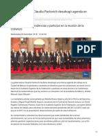 05-12-2018 La Gobernadora Claudia Pavlovich desahogó agenda en México - TVPacifico