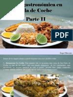 Ángel Marcano - Ruta Gastronómica en Isla deCoche, Parte II