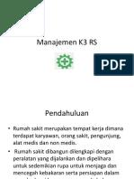 13. Manajemen K3 RS