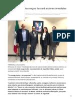 08-12-2018 David Anaya Cooley asegura buscará acciones inmediatas de prevención - El Imparcial