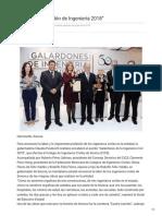 08-12-2018 Encabeza Galardón de Ingeniería 2018 - Nuevo Día