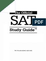 Official Sat Book