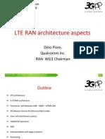 REV-090005 LTE RAN Architecture Aspects