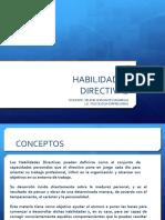 HABILIDADES DIRECTIVAS 1