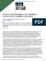 OLIVEIRA LIMA, Manuel de. EVOLUÇÃO HISTÓRICA DA AMÉRICA LATINA E DA AMÉRICA INGLESA (extrato).pdf