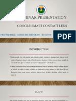 Seminar Presentation Final