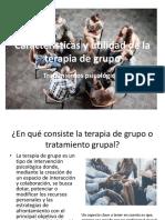 Características y Utilidad de La Terapia de Grupo (1)