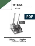 Streemfeeder ST1250 Manual