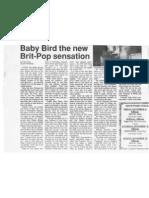Baby Bird the new Brit-pop sensation