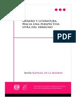 GENERO Y LITERATURA HACIA UNA PERSPECTIVA OTRA DEL DERECHO