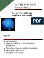 Sistemas basados en el conocimiento -  Busqueda