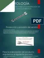 ISO9000 - ELABORACIÓN DE UNA LLAVE COMBINADA