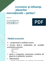 Curs NR 4 Mediul Economic (Partea 1)