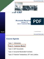 SAP Accounts Receivables Customer Master