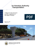 Honolulu rail audit