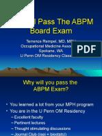 ABPM Board Exam Study