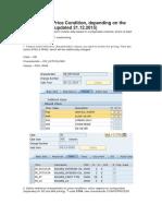 Configuração No SAP