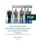 Aplicación de La Nueva Transformada Dispersa de Fourier en El Campo de La Medicina Moderna