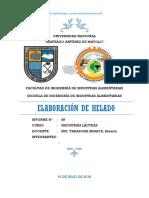 Informe 09 Helado