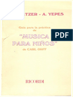 Guia para la Practica de Musica Para Niños