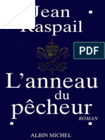 L'Anneau Du Pecheur. Jean Raspail