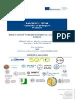 Bando Universities2018 I Edizione
