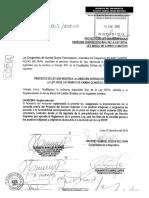 Proyecto de Ley 3805 - Consulta a Pueblos Indígenas en Reglamento de la Ley de Cambio Climático