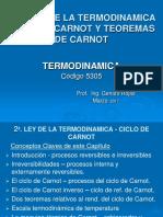 8a. Clase - 2a.  ley de la termod. - Ciclo de Carnot y Teoremas.ppt