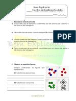 C 1.3 - Substâncias Elementares e Substâncias Compostas - Ficha de Trabalho (2)