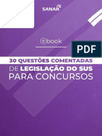e Book 30 Questoes Comentadas de Legislacao Do Sus Sanar.original