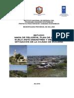 Estudio Mapa de Peligros, Plan de Usos Del Suelo Ante Desastres y Medidas de Mitigación de La Ciudad de Sullana