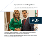 01-12-2018 Con un Hasta siempre Claudia Pavlovich agradece a Peña Nieto - El Sol de Hermosillo