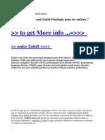Adderall Et Zoloft and Zoloft Posologie Pour Les Enfants