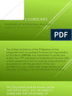 Architects guidelines.pptx
