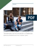 Tendencias de la Educación a Distancia-  Implicaciones administrativas para cursos, programas y grados
