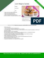 Muffins de Aveia Com Maca e Canela SaborIntenso