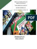 Cover Buku Laporan Permainan Dalaman