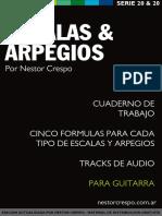 Libro de Escalas y Arpegios - Nestor Crespo